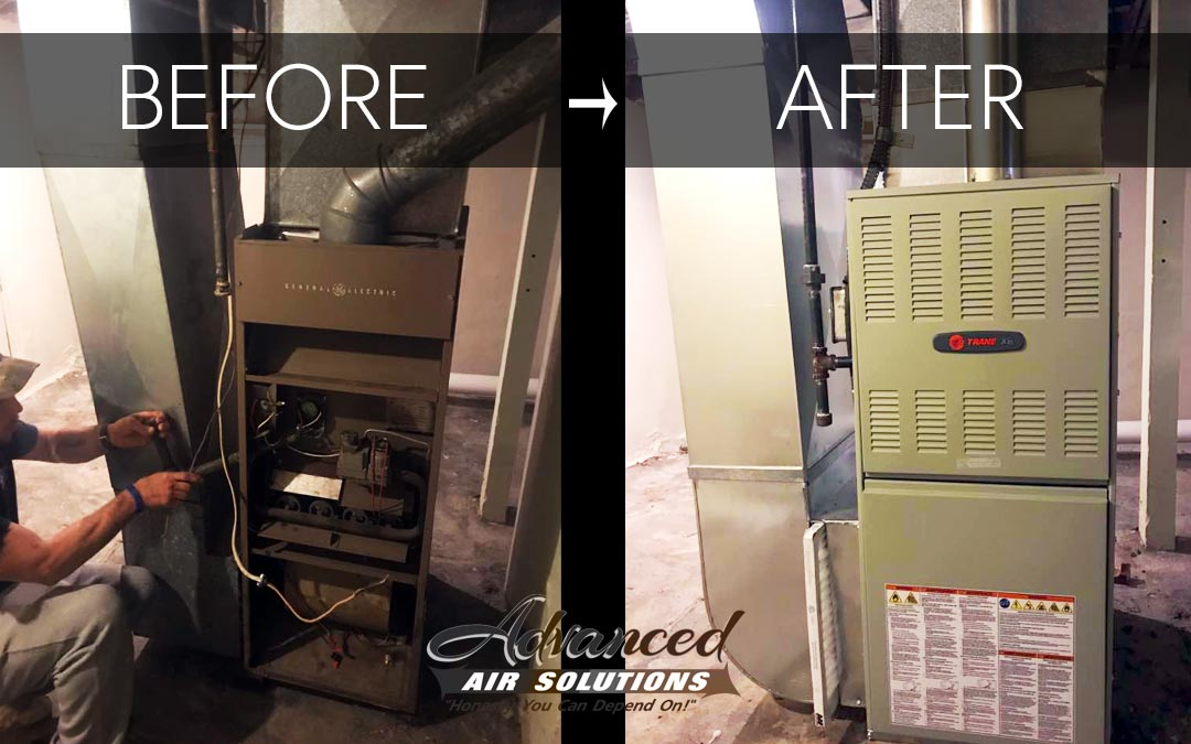 featured image blog post new installation trane furnace maintenance checklist advanced air solutions