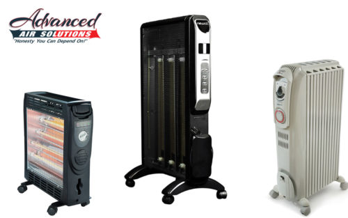 space heater purchasing and positioning