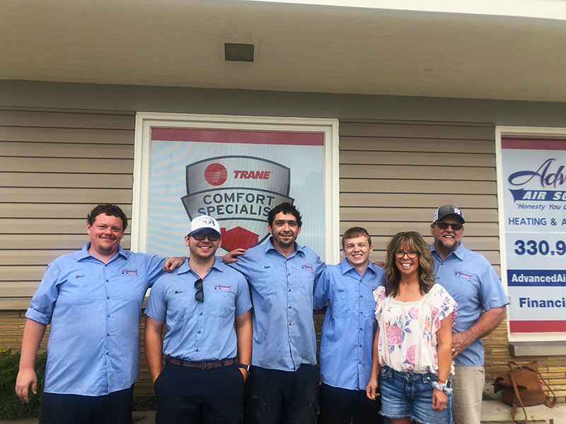 Team Picture TRANE® COMFORT SPECIALIST™ Advanced Air Solutions